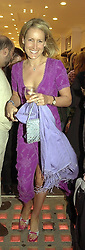 MRS SIMON SEBAG-MONTEFIORE, family friend<br />  of HRH The Prince of Wales, at a  party in London <br /> on 17th May 2000.OEF 6
