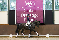 "Langehanenberg Helen and Hilberath Jonny (GER)<br /> ""The German system""<br /> Global Dressage Forum - Academy Bartels <br /> Hooge Mierde 2012<br /> © Dirk Caremans"