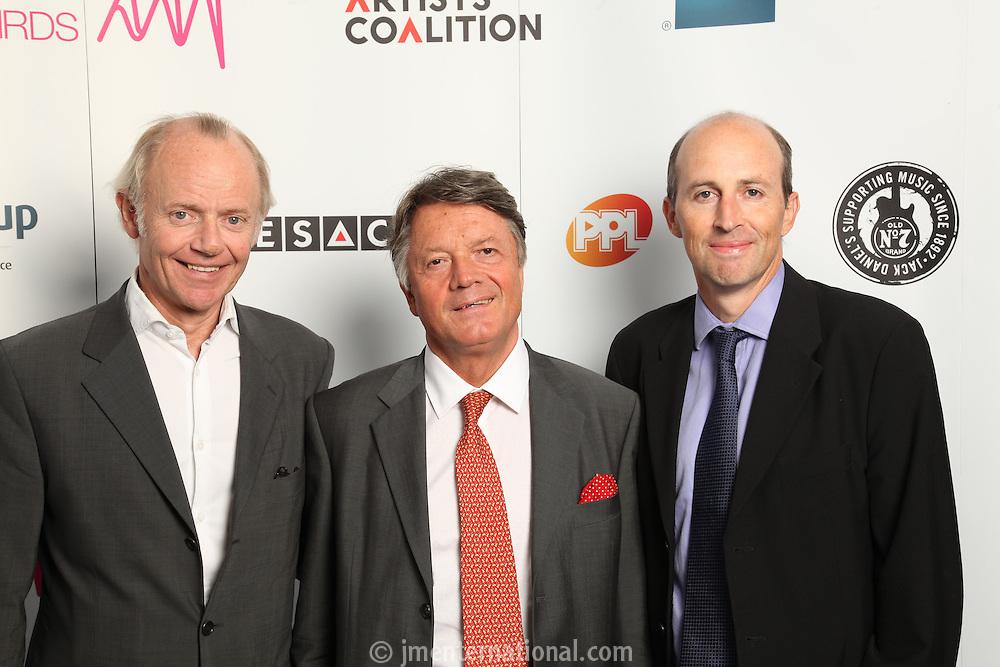 Jonathan Morrish, Fran Nevrkla (PPL Chairman and CEO) and Peter Leathem (Managing Director PPL)