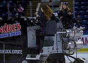 KELOWNA, CANADA - NOVEMBER 14:  Orchard Park Zamboni Rider at the Kelowna Rockets game on November 14, 2017 at Prospera Place in Kelowna, British Columbia, Canada.  (Photo By Cindy Rogers/Nyasa Photography,  *** Local Caption ***