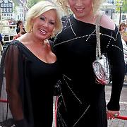 NLD/Amsterdam/20110731 - Premiere circus Hurricane met Hans Klok, Mayday en Netty Grifhorst van Schijndel