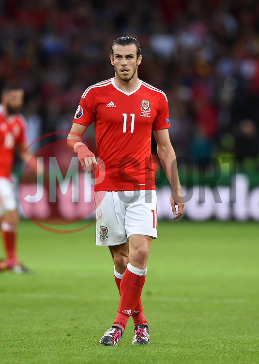 Gareth Bale of Wales  - Mandatory by-line: Joe Meredith/JMP - 01/07/2016 - FOOTBALL - Stade Pierre Mauroy - Lille, France - Wales v Belgium - UEFA European Championship quarter final