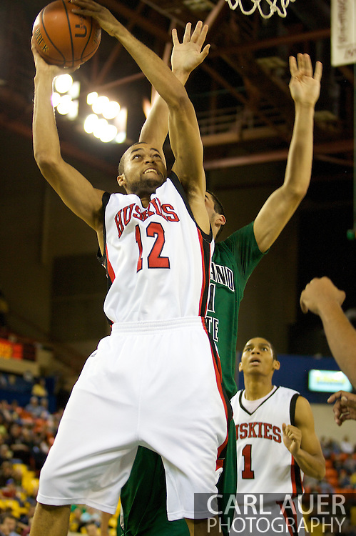 November 26, 2008: Northern Illinois forward Sean Smith (12) in game two of the 2008 Great Alaska Shootout at the Sullivan Arena.