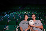 17225Stephanie & Michaele Blackburn: Volleyball Siblings Portrait for Ohio Today
