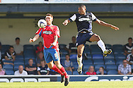 Picture by David Horn/Focus Images Ltd +44 7545 970036.08/09/2012.Michael Spillane (l) of Dagenham and Redbridge during the npower League 2 match at Roots Hall, Southend.