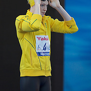 Cate Campbell, Australia, next to Britta Steffen, Germany in the Women's 50m Semi Finals won by Campbell at the World Swimming Championships in Rome on Saturday, August 01, 2009. Photo Tim Clayton.