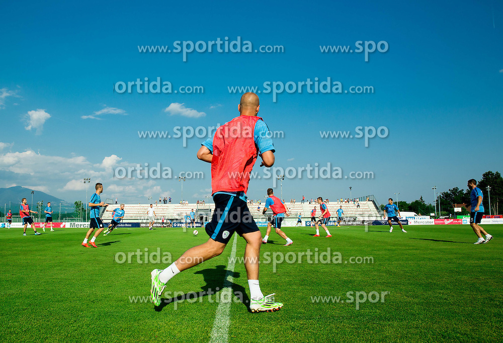 Miso Brecko during practice session of Slovenian National Football Team before Euro 2016 Qualifications match against England, on June 10, 2015 in Kranj, Slovenia. Photo by Vid Ponikvar / Sportida