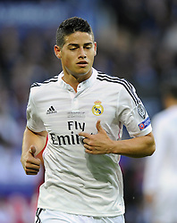 Real Madrid's James Rodriguez - Photo mandatory by-line: Joe Meredith/JMP - Mobile: 07966 386802 12/08/2014 - SPORT - FOOTBALL - Cardiff - Cardiff City Stadium - Real Madrid v Sevilla - UEFA Super Cup