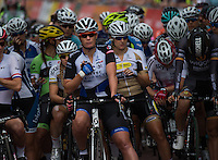 LONDON UK 30TH JULY 2016:  Classique Cyclist The Mall Kirsten Wild Hitec Products. The Prudential RideLondon Classique elite womens' race. Prudential RideLondon in London 30th July 2016<br /> <br /> Photo: Jon Buckle/Silverhub for Prudential RideLondon<br /> <br /> Prudential RideLondon is the world's greatest festival of cycling, involving 95,000+ cyclists – from Olympic champions to a free family fun ride - riding in events over closed roads in London and Surrey over the weekend of 29th to 31st July 2016. <br /> <br /> See www.PrudentialRideLondon.co.uk for more.<br /> <br /> For further information: media@londonmarathonevents.co.uk