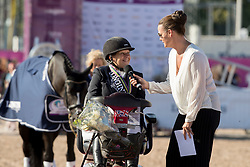 Payne Julie, GBR, Athene Lindebjerg<br /> FEI European Para Dressage Championships - Goteborg 2017 <br /> &copy; Hippo Foto - Dirk Caremans