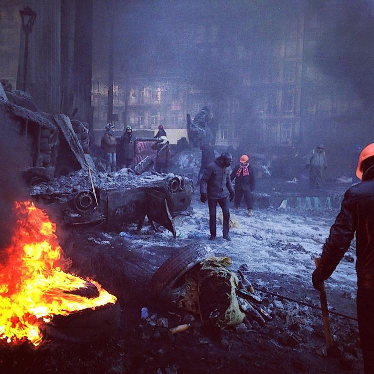 These guys are ready, Jan. 24, 2014. #євромайдан #україна #київ #euromaidan #kyiv #euromaidan #primecollective