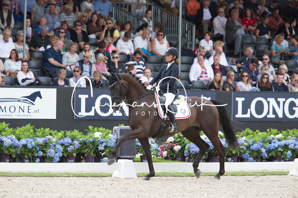 Troensegaard Anne, DEN, Kipling<br /> World Championship Young Dressage Horses <br /> Ermelo 2016<br /> &copy; Hippo Foto - Leanjo De Koster<br /> 29/07/16