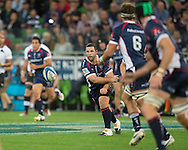 Ged Robinson (Rebels) in action during the Round 9 match of the 2013 Super Rugby Championship between RaboDirect Rebels vs Southern Kings at AAMI Park, Melbourne, Victoria, Australia. 13/04/0213. Photo By Lucas Wroe