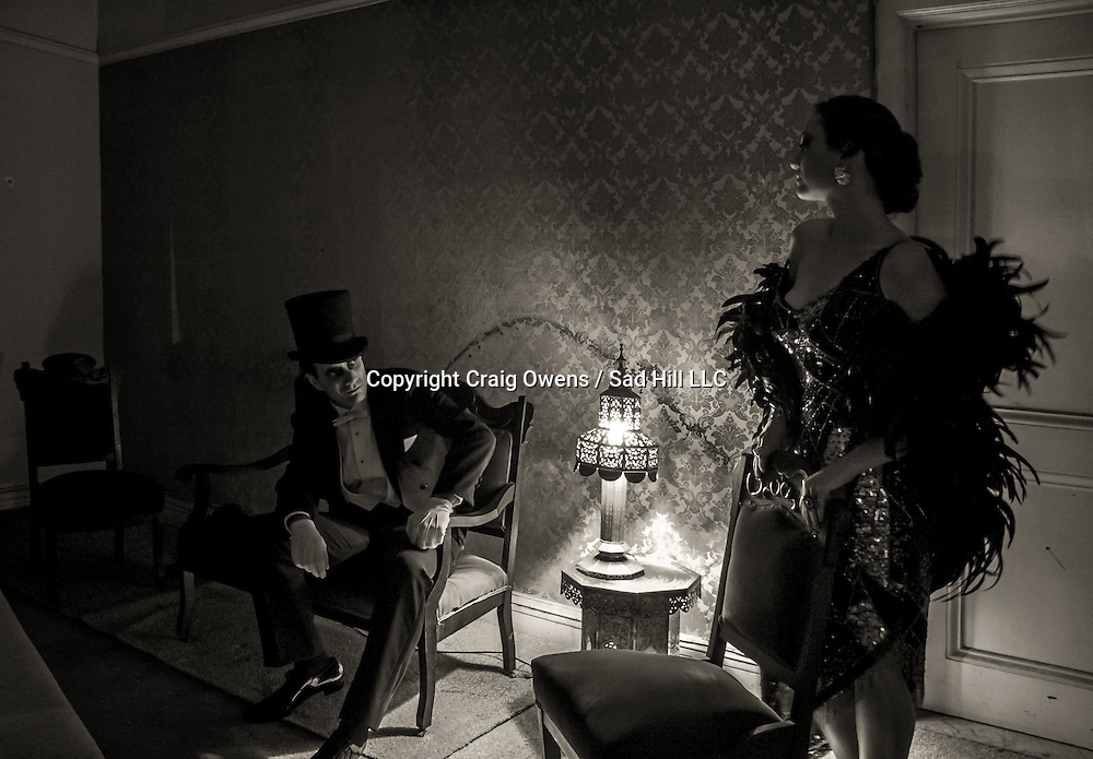 Inside the Alexandria Hotel's haunted Valentino Suite in downtown Los Angeles. Photographer: Craig Owens