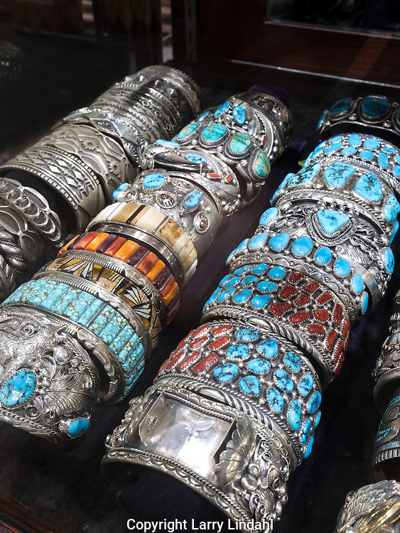 Native American bracelets Cameron Trading Post, Cameron, Arizona