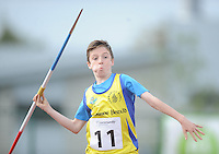 21 Aug 2016:  Boys U14 Javelin.  2016 Community Games National Festival 2016.  Athlone Institute of Technology, Athlone, Co. Westmeath. Picture: Caroline Quinn