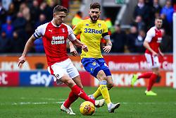 Will Vaulks of Rotherham United controls the ball - Mandatory by-line: Ryan Crockett/JMP - 26/01/2019 - FOOTBALL - Aesseal New York Stadium - Rotherham, England - Rotherham United v Leeds United - Sky Bet Championship