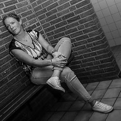 ALMELO (NED) wielrennen<br /> Wielrenster Kirsten Wild (Almelo-Zwolle) even terug bij de Almelose Wielervereniging de Zwaluwen waar ze als tiener kennis maakte met de wielersport. Ze kwam even kijken bij een jeugdtraining