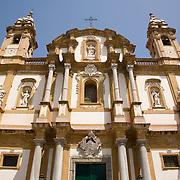 Chiesa di S. Domenico (circa 1458 - 1726) Palermo, Sicily, Italy