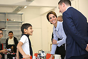 Her Royal Highness The Duchess of Cambridge visit to the Netherlands <br /> <br /> Her Royal Highness visit  Rotterdam to see Bouwkeet, the social Makerspace of Bospolder-Tussendijken. This is a new community focussed initiative in the centre of an economically deprived district which provides a creative design and technology workspace.