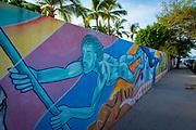 Mural, Bucerias, Banderas Bay, Riviera Nayarit, Nayarit, Mexico