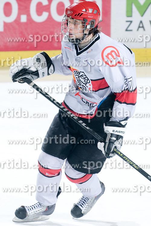 Nik Pem of HK Jesenice Mladi during ice-hockey match between HK Olimpija and HK Jesenice Mladi in SLOHOKEJ league, on Januar 8, 2011 at Hala Tivoli, Ljubljana, Slovenia. (Photo By Matic Klansek Velej / Sportida.com)