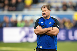 Bath Rugby Assistant Coach Neal Hatley looks on during the pre-match warm-up - Mandatory byline: Patrick Khachfe/JMP - 07966 386802 - 15/12/2019 - RUGBY UNION - Stade Marcel-Michelin - Clermont-Ferrand, France - Clermont Auvergne v Bath Rugby - Heineken Champions Cup