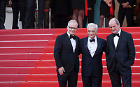 Festival Director Thierry Fremaux, Director Martin Scorsese and Cannes Film Festival President Pierre Lescure at the Opening Ceremony and Everybody Knows (Todos Lo Saben) gala screening at the 71st Cannes Film Festival Tuesday 8th May 2018, Cannes, France. Photo credit: Doreen Kennedy