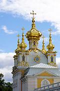 The Church at Peterhof Palace, St. Petersburg, Russia