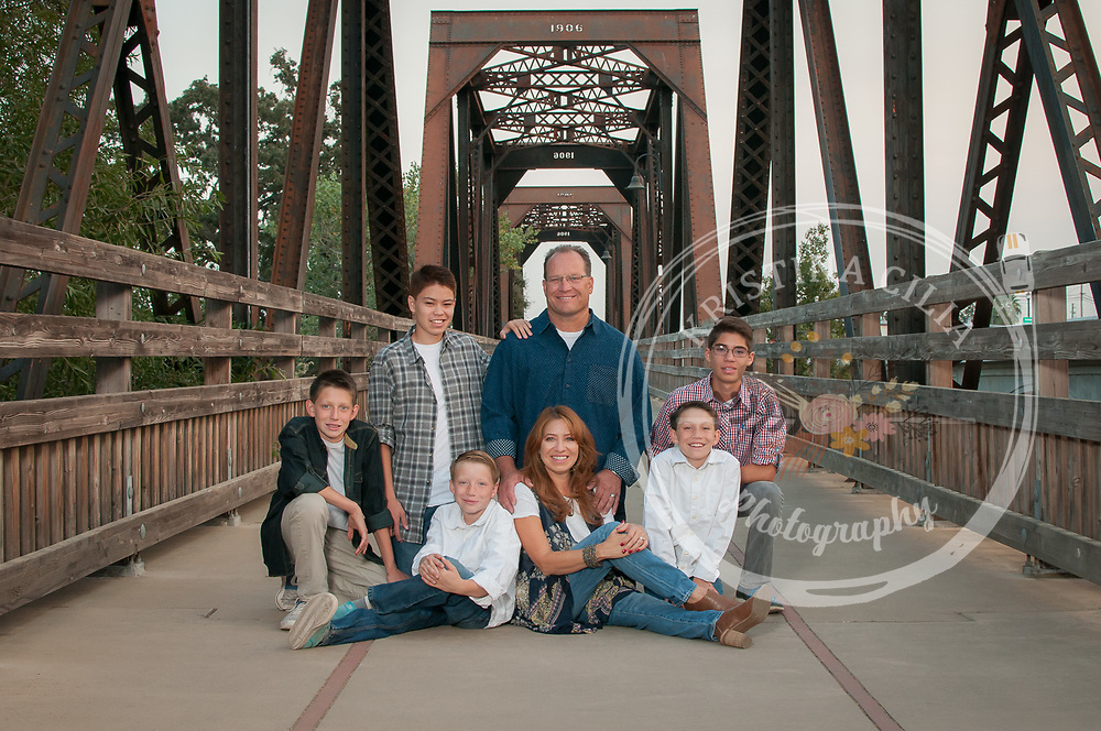 Outdoor Family Portrait, Kristina Cilia Photography, Vacaville family portrait photographer