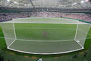 31.05.2008,  Testländerspiel in der Veltins-Arena auf Schalke: Deutschland - Serbien,   Das Tor in der Veltins-Arena.