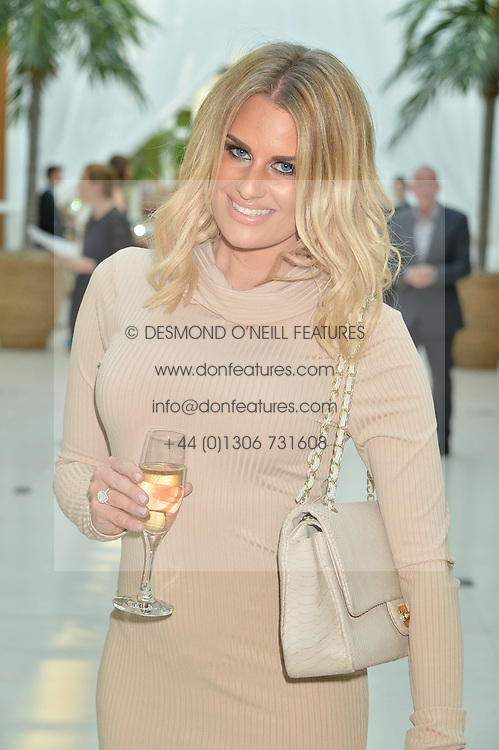 DANIELLE ARMSTRONG at the Ben Cohen Stand Up Foundation Gala evening at The Hurlingham Club, Ranelagh Gardens, London on 21st May 2015.