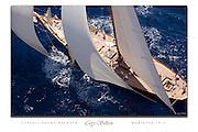 Herreshoff schooner Mariette aerial poster.