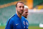 Brighton & Hove Albion centre forward Glenn Murray (17)  during the EFL Sky Bet Championship match between Norwich City and Brighton and Hove Albion at Carrow Road, Norwich, England on 21 April 2017. Photo by Simon Davies.