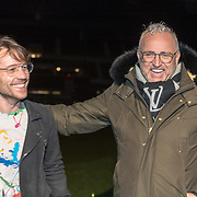NLD/Amsterdam/20191209 - Aftrap KWF lampionnenactie, Gordon en Chiel Beelen