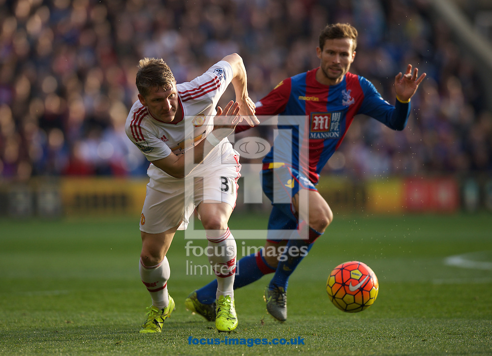 Bastian Schweinsteiger of Manchester United during the Barclays Premier League match at Selhurst Park, London<br /> Picture by Alan Stanford/Focus Images Ltd +44 7915 056117<br /> 31/10/2015
