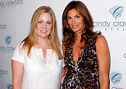 Redbook's Stacy Morrison and Cindy Crawford pose at Soho House to launch Cindy Crawford's 'Style' Line at JC Penney in New York City, USA on September 9, 2009.