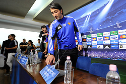 20.08.2013, Sofia, BUL, UEFA CL Play off, PFC Ludogorez Razgrad vs FC Basel, Ankunft FC Basel in Sofia, im Bild Trainer Murat Yakin (Basel) // during departure FC Basel to the UEFA Champions League Play off Match between PFC Ludogorez Razgrad vs FC Basel in Sofia, Bulgaria on 2013/08/20. EXPA Pictures © 2013, PhotoCredit: EXPA/ Freshfocus/ Andy Mueller<br /> <br /> ***** ATTENTION - for AUT, SLO, CRO, SRB, BIH only *****