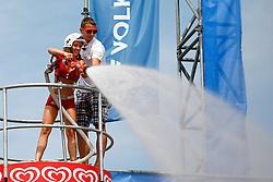 07.08.2011, Klagenfurt, Strandbad, AUT, Beachvolleyball World Tour Grand Slam 2011, im Bild Eskimo Girls, EXPA Pictures © 2011, PhotoCredit: EXPA/ Erwin Scheriau