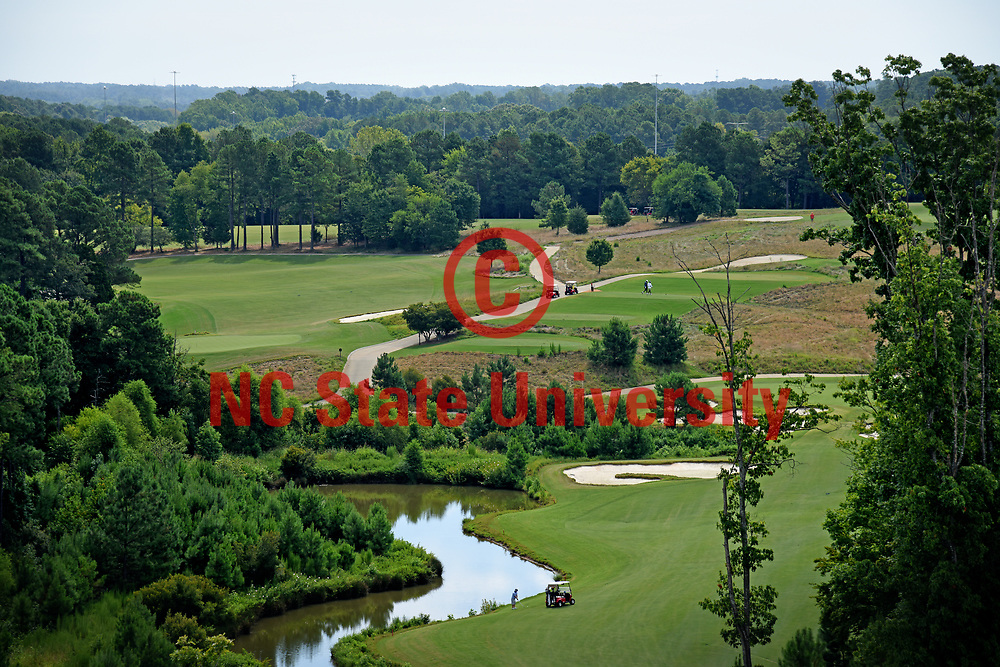 Lonnie Poole Golf Course on Centennial Campus.