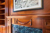 Washington DC apartment building Interior image of The Woodley by Jeffrey Sauers of Commercial Photographics, Architectural Photo Artistry in Washington DC, Virginia to Florida and PA to New England