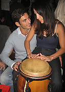 **EXCLUSIVE**.Ivete Sangalo with boyfriend Andreas.PM Lounge.New York City, NY, USA.Tuesday, September, 18, 2007.Photo By Selma Fonseca / Celebrityvibe.com.To license this image call (212) 410 5354 or;.Email: celebrityvibe@gmail.com; .Website: www.celebrityvibe.com .