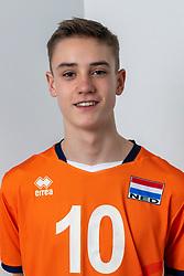 21-12-2018 NED: Photoshoot selection of Orange Young Boys, Arnhem <br /> Orange Young Boys 2018 - 2019 / Jelle Bosma #10