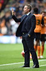 Millwall Manager, Neil Harris - Photo mandatory by-line: Paul Knight/JMP - Mobile: 07966 386802 - 02/05/2015 - SPORT - Football - Wolverhampton - Molineux Stadium - Wolverhampton Wanderers v Millwall - Sky Bet Championship