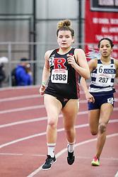 womens 800 meters, heat 8, Rutgers<br /> BU John Terrier Classic <br /> Indoor Track & Field Meet