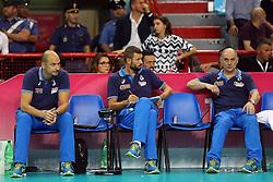 LA PANCHINA DELL'ITALIA DELUSA<br /> ITALIA - OLANDA<br /> VOLLEYBALL WORLD GRAND PRIX 2016<br /> BARI 18-06-2016<br /> FOTO GALBIATI - RUBIN