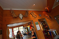 The Årrenjarka lodge near Kvikkjokk and the Laponia UNESCO World Heritage Site, Greater Laponia rewilding area, Lapland, Norrbotten, Sweden