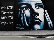 Dream street art; London E2 2013
