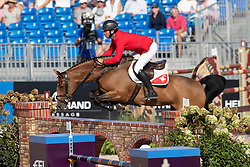 Guerdat Steve, SUI, Bianca<br /> World Equestrian Games - Tryon 2018<br /> © Hippo Foto - Dirk Caremans<br /> 19/09/2018