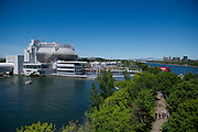 June 5-7, 2015: Canadian Grand Prix: View of the Casino and spectators